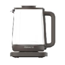 Transparente Teekanne aus transparentem Glas für den Haushalt / schnelle elektrische Teekanne