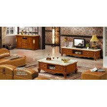Mesa de centro Color marrón, soporte de la TV, muebles de Europa (219)