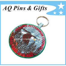 Embroidered Key Chain of 100% Embroidery Area