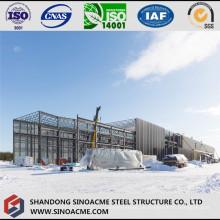Rohrbinder für Dach der schweren Stahlwerkstatt