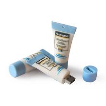 Memoria USB de goma de PVC personalizada con pasta de dientes
