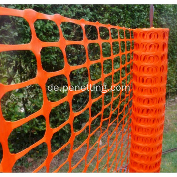 PE Safety Orange Warnnetz