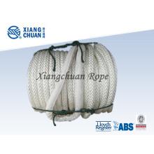 12 Strand cuerda de remolque de polipropileno para enviar