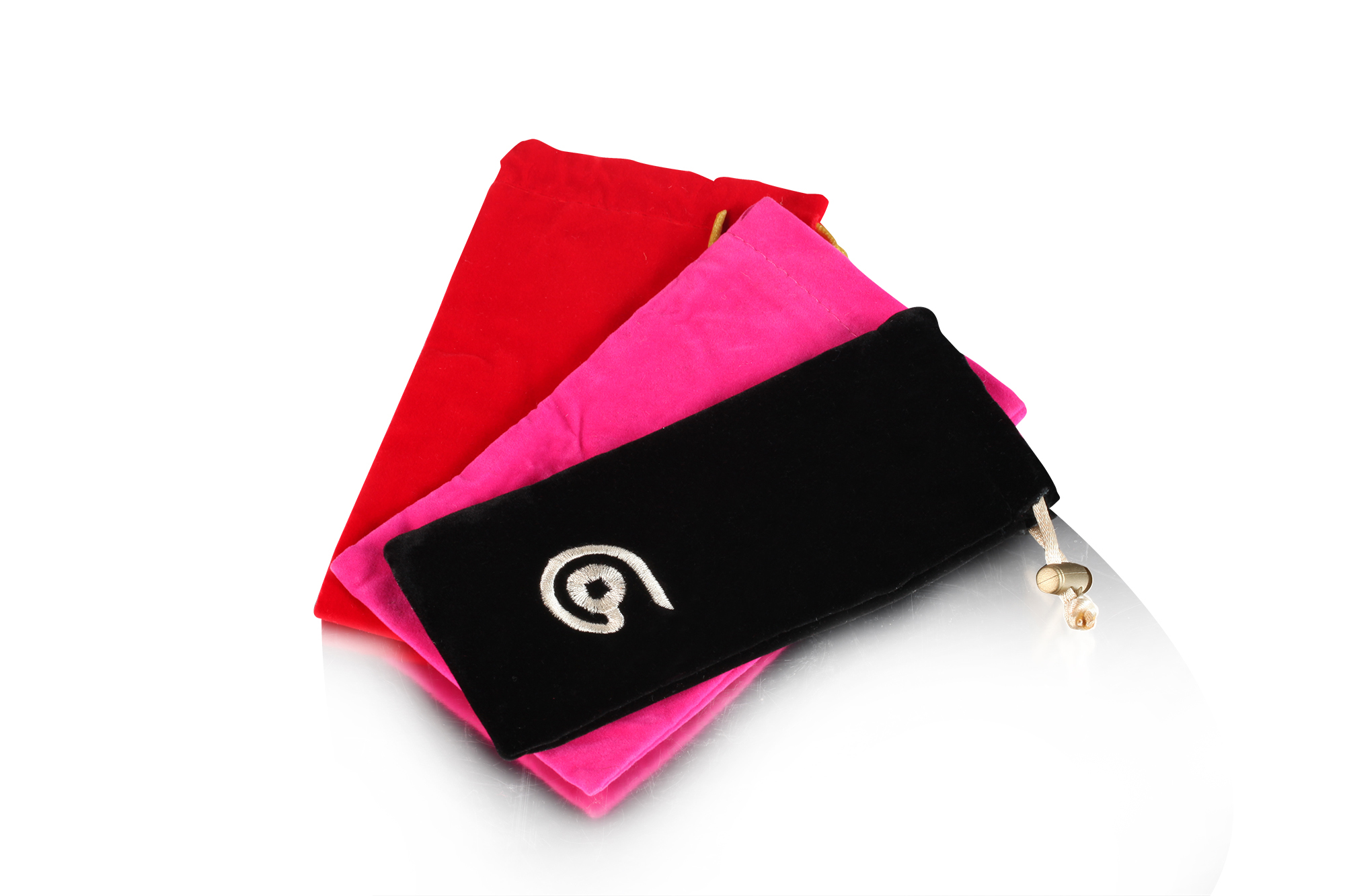 Custom jewelry velvet drawstring pouches bags