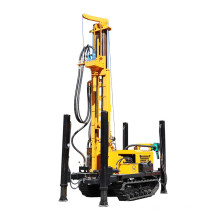 300m Deep DTH Borehole Water Well Drill Rig Deep Hole Drilling Machine