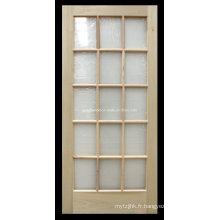 Porte d'entrée en bois de haute qualité 15 Lite