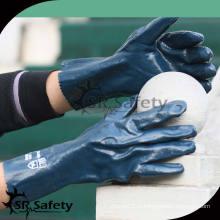 SRSAFETY 2014 выбор нитриловой химической защитной перчатки