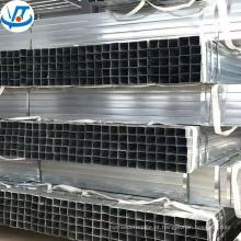 Venda quente tubo de tubo de aço quadrado galvanizado com menor preço