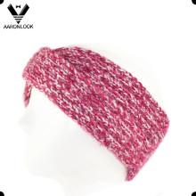 Dame Mode Winter Warm Kreuz gestrickt Häkeln Stirnband