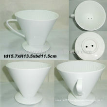 6.12inch Porcelain Coffee Filter For BS130521A
