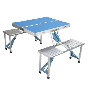 table pliante en aluminium facile