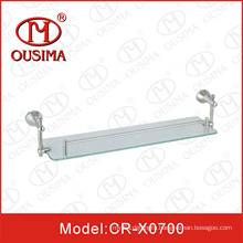 Stainless Steel Single Glass Towel Rack