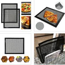 PTFE coate open mesh fabric for BBQ mat