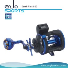 Angler Select Earth Plus Trolling Reel 3 + 1 Bb / Rechter Handgriff Angelrolle für Salzwasser und Süßwasser (Earth Plus 020)