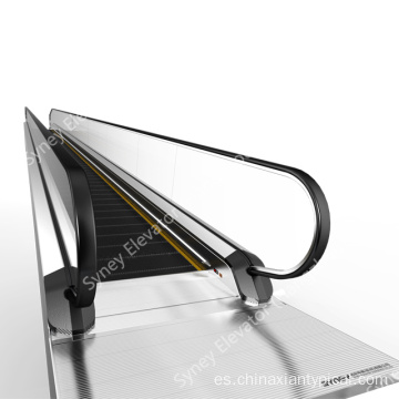 Horizontal en movimiento Paseo Flat Travelator