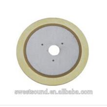 Fábrica de dongguan pzt cerâmica piezo 2.0khz elementos piezocerâmicos