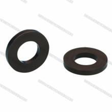Arruelas de nylon pretas M3, Wahsers plásticos para os parafusos