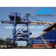 Déchargeur de ciment, Déchargeur de navire à godet, Déchargeur de navires pneumatique