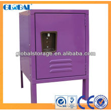 Colorful steel student's locker