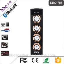 BBQ KBQ-706 batterie 6000 mAh 40 Watt audio heißer verkauf Turm Karoake system Bluetooth lautsprecher retro boombox