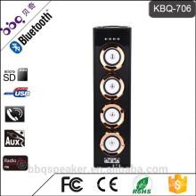 Барбекю КБК-706 батарея 6000mah 40Вт аудио горячая распродажа Башня Karoake системы Bluetooth динамик ретро Бумбокс
