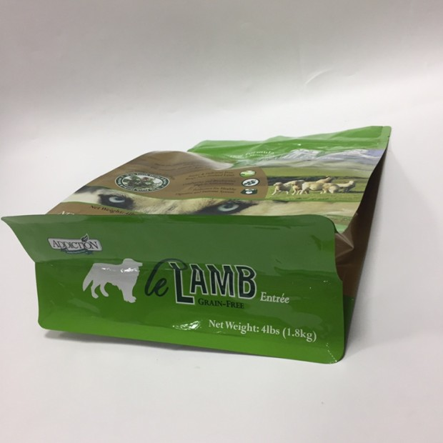 Flat Bottom Pet Food Bags