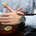 Moda Mens Unmeral Dial Relógio De Pulso