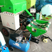 Automatic bale machine with high efficiency