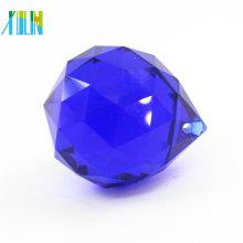 Mode 50mm Kristallglas facettierten Ball Anhänger für Vorhang CP100