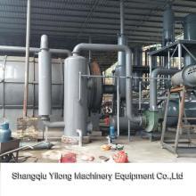 Pyrolysis Liquid Fuel System