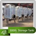 Резервуар для хранения нержавеющей стали объемом 5000 литров