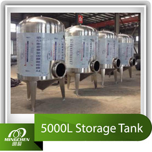 5000L Stainless Steel Storage Tank