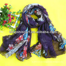 lenço extra longo de moda feminina