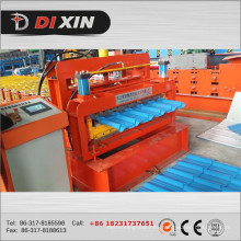 Dx 1100 Colored Glazed Steel Roof Tile Roll Forming Machine