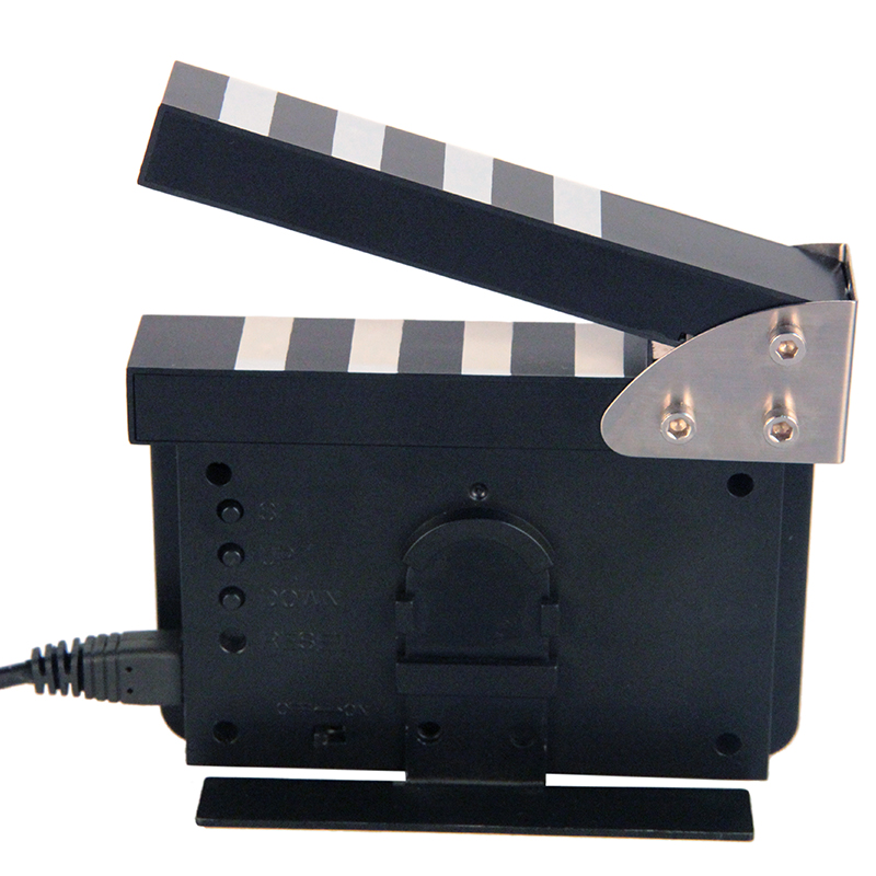 The Film Clappers Mini Clcok