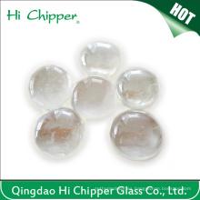 Perlas de vidrio decorativas del hoyo del fuego claro