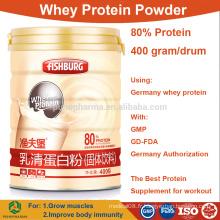 Vente en gros Concentré de poudre de protéines de lactosérum 80% isoler les prix en vrac