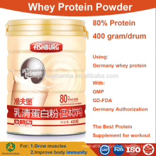 wholesale Whey Protein Powder concentrate 80% isolate bulk prices