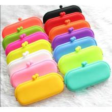 Bolsa de silicona para gafas Celular cosméticos llaves