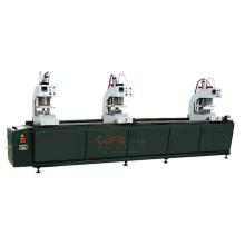 Three Head High Frequency PVC UPVC Window Welding Fabrication  Machine