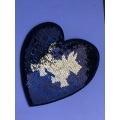 Popular Beaded Decorative Garment Embroidery Sequin Patches