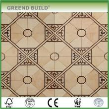 Hermoso piso de parquet impermeable de arce