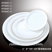 Manufactory Direct Selling Porcelain Dinner Plate with Lastest designed