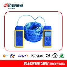 Sólido CAT6 que pasa el cable de la prueba de la red de la prueba