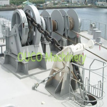 Winch with Hydraulic Electric Anchor