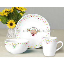 3pcs Ceramic Giftware Breakfast Set
