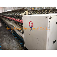 Chinese Made Wanli -Wl2002 Spinning Machine Two-for-One Twister for Short Fiber with 144 Spindles Year 2009-2010 Cheap Price Machine
