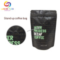 Brown Kraft Paper Coffee Bag Dengan Valve Degassing