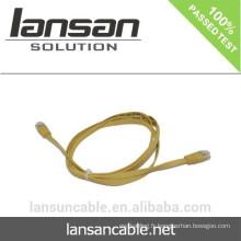 Câble CAT6 UTP AWG30 FLAT avec couleur optionnelle