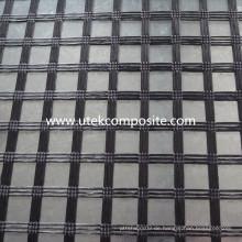 Polyester Uniaxial Geogitter für Stützmauer